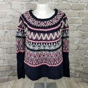 Anthropologie sleeping on snow Poncho Sweater XS/S